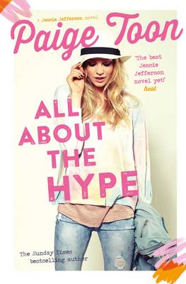 Cover for All About the Hype by Paige Toon