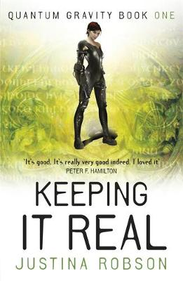 Cover for Keeping it Real by Justina Robson