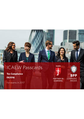 ICAEW Tax Compliance Passcards by BPP Learning Media
