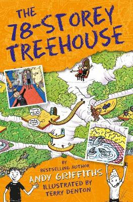 The 78-Storey Treehouse by Andy Griffiths