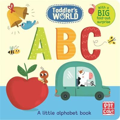 Cover for ABC A Little Alphabet Board Book by Pat-a-Cake