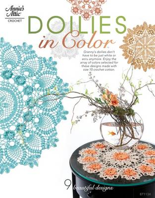 Doilies in Color by Connie Ellison