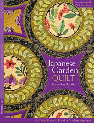 Japanese Garden Quilt by Karen Kay Buckley