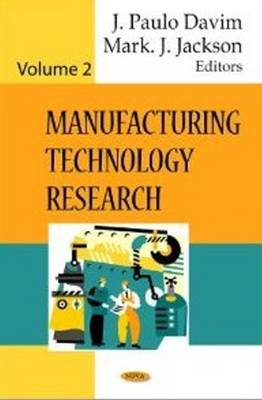 Manufacturing Technology Research by J. Paulo Davim