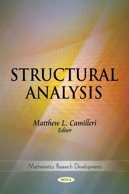 Structural Analysis by Matthew L. Camilleri