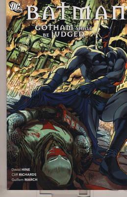 Batman Gotham Shall be Judged by David Hine