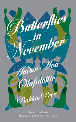 Butterflies in November by Audur Ava Olafsdottir, Petra Borner