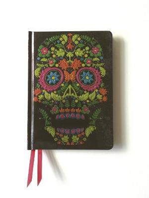 Colour Floral Skull (Contemporary Foiled Journal) by
