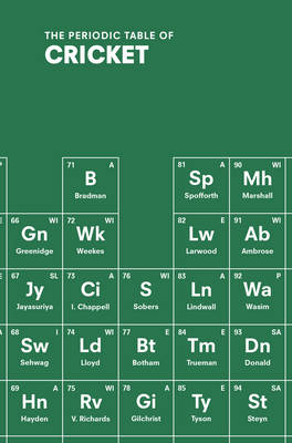 The Periodic Table of Cricket by John Stern
