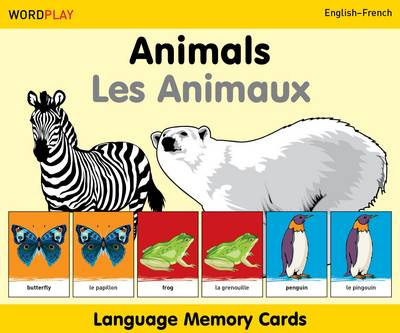 Language Memory Cards - Animals by Milet