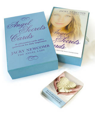Angel Secrets Cards 48 Cards and a Guidebook for Daily Inspiration by Jacky Newcomb