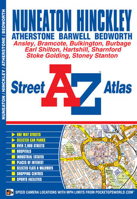 Nuneaton Street Atlas by Geographers' A-Z Map Company