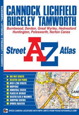 Cannock Street Atlas by Geographers' A-Z Map Company