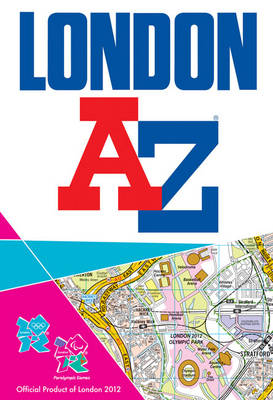 London 2012 Street Atlas by Geographers' A-Z Map Company