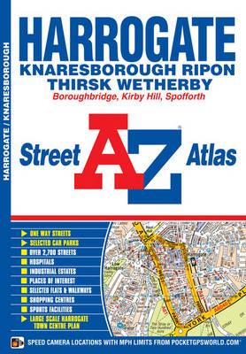 Harrogate Street Atlas by Geographers' A-Z Map Company