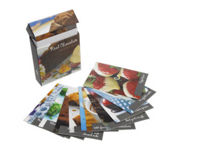 Chocolate Recipe Cards by Quadrille