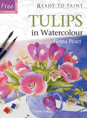 Tulips In Watercolour by Fiona Peart