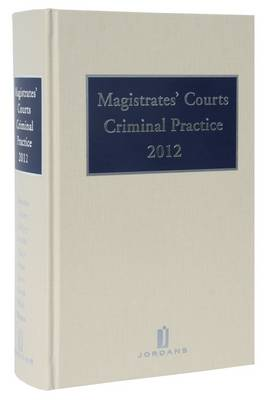 Magistrates' Courts Criminal Practice by Roveri Alessandro, S. Roveri