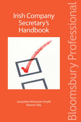 Irish Company Secretary's Handbook by Eleanor Daly, Jacqueline McGowan-Smyth
