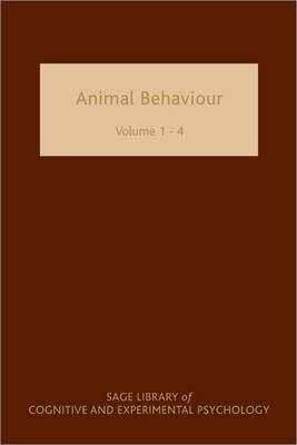 Animal Behaviour by Johan J. Bolhuis