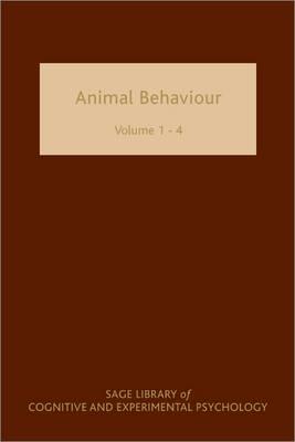 Animal Behaviour Four-volume Set by Johan J. Bolhuis