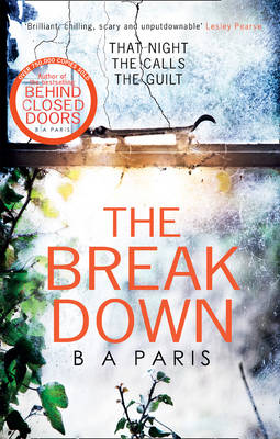 Cover for The Breakdown by B. A. Paris