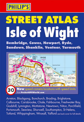 Philip's Street Atlas Isle of Wight by Philip's