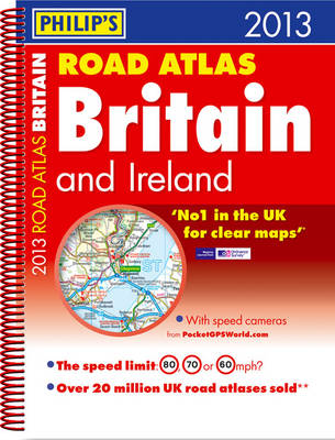Philip's Road Atlas Britain and Ireland by Philip's