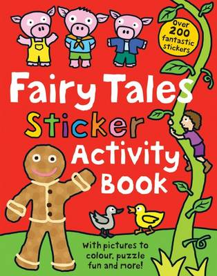 Fairy Tale Sticker Activity Book by Roger Priddy