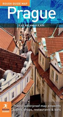 The Rough Guide Map Prague by