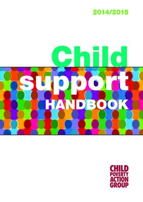 Child Support Handbook by Child Poverty Action Group