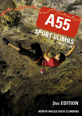 A55 Sport Climbs North Wales Rock Climbing by Michael Doyle