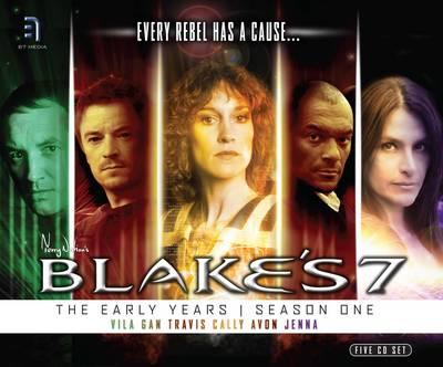 Blake's 7 - Early Years Box Set Vila, Gan, Avon, Travis, Cally, Jenna by Ben Aaronovitch, James Swallow, Andrew Mark Sewell