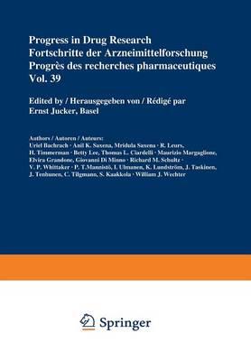 Progress in Drug Research / Fortschritte der Arzneimittelforschung / Progres des Recherches Pharmaceutiques by Ernst Jucker