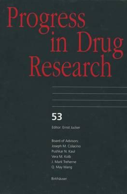 Progress in Drug Research by J. Szmuskovicz