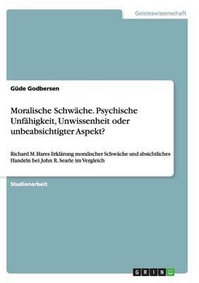 Moralische Schwache by Gude Godbersen