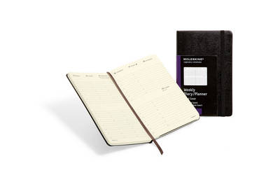 Moleskine Large Diary Weekly Vertical Hard by