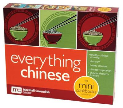 Everything Chinese Mini Cookbooks Boxed Set by