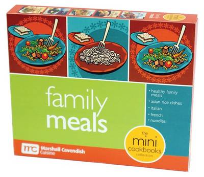 Family Meals Mini Cookbooks Boxed Set by
