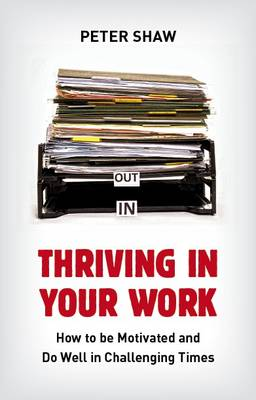 Thriving in Your Work How to Succeed and Remain Motivated in Challenging Times by Peter Shaw