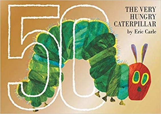 Cover for The Very Hungry Caterpillar 50th Anniversary Collector's Edition by Eric Carle
