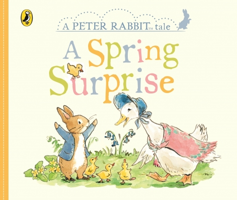 Cover for Peter Rabbit Tales - A Spring Surprise by Beatrix Potter