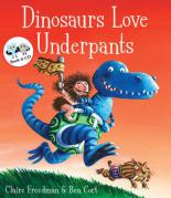 Dinosaurs Love Underpants (book & audio CD) by Claire Freedman