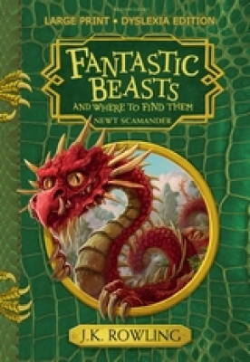 Cover for Fantastic Beasts and Where to Find Them Hogwarts Library Book by J. K. Rowling