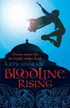 Cover for Bloodline Rising by Katy Moran