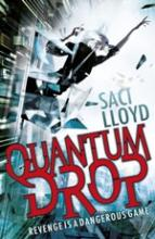 Cover for Quantum Drop by Saci Lloyd