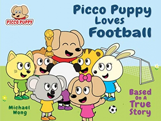 Picco Puppy Loves Football