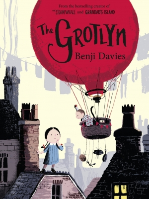 Cover for The Grotlyn by Benji Davies