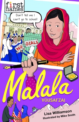 Cover for Malala Yousafzai by Lisa Williamson