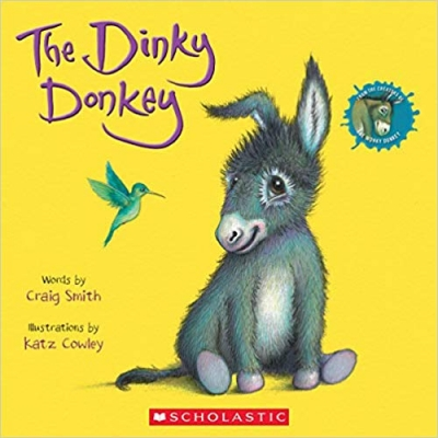 Cover for The Dinky Donkey by Craig Smith